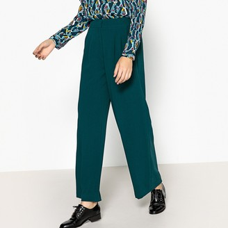 Suncoo Loose Fit, Wide Leg High Waist Trousers