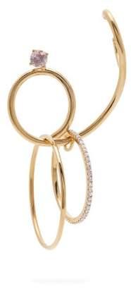 Ana Khouri Camille 18kt Gold & Diamond Single Earring - Womens - Diamond