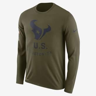 Nike Legend Salute to Service (NFL Texans) Men's Long-Sleeve T-Shirt