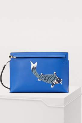 Loewe Pesce T pouch bag