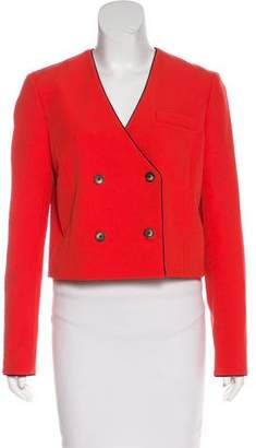 Thakoon Double-Breasted Cropped Blazer