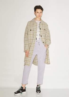 Etoile Isabel Marant Oario Checked Boucle Coat