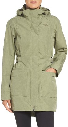 Women's The North Face 'Tomales Bay' Waterproof Hooded Jacket $180 thestylecure.com