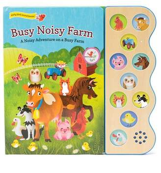 COTTAGE DOOR PRESS Busy Noisy Farm 10 Button Sound Book