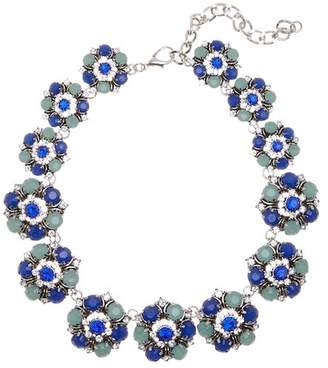 Eye Candy Los Angeles Crystal Detail Sprng Fling Necklace