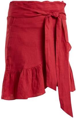 Etoile Isabel Marant Tempster linen wrap skirt