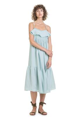 Country Road Frill Pintuck Sundress