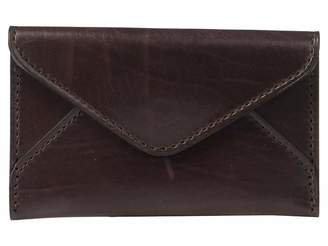 Lucchese Flat Leather Business Card Case