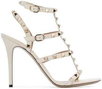 Valentino rockstud embellished strappy heels