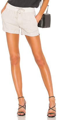 James Perse Pull On Easy Linen Short