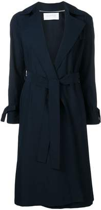 Harris Wharf London belted trench coat