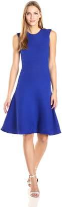 Milly Women's Geo Textured Flare Dress