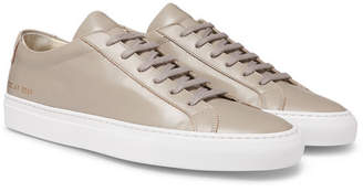 Common Projects Original Achilles Leather Sneakers - Men - Taupe