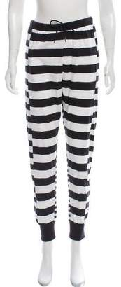Y-3 Striped High-Rise Joggers