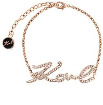 Karl Lagerfeld signature bracelet