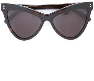 Stella McCartney Eyewear angular cat eye sunglasses