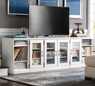Pottery Barn Printer's Long Low Media Stand