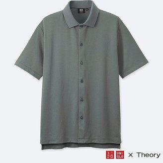 UNIQLO Men's Dry Comfort Full-open Polo Shirt $29.90 thestylecure.com