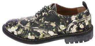 Givenchy Floral Wingtip Brogues
