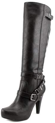 GUESS Womens Theorry Closed Toe Knee High Fashion Boots