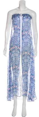 Melissa Odabash Strapless Maxi Cover-Up