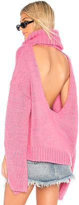 One Teaspoon Winona Keyhole Sweater