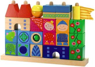 Haba Stack-A-Dragons Castle Wooden Block Set