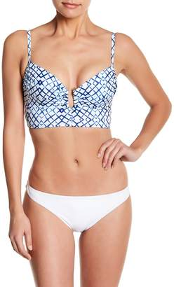 Ach'e A Che' Tala Print Swim Bikini Top