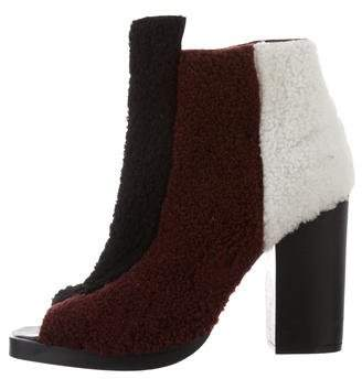 Opening Ceremony Elise Faux Fur Booties