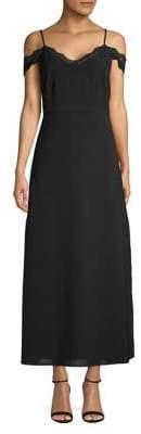 Dex Lace Trim Gown
