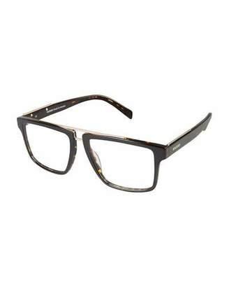 Balmain Tortoiseshell Plastic Optical Frames