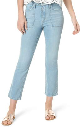 Joe's Jeans The Callie Utility Pocket High Waist Crop Bootcut Jeans