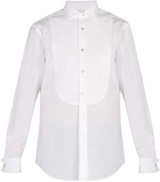Paul Smith Double-cuff cotton poplin shirt
