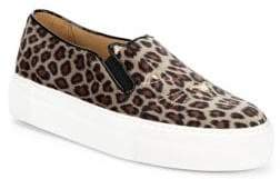 Charlotte Olympia Leopard Print Platform Sneakers