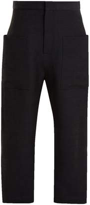 Raey Linen patch-pocket trousers
