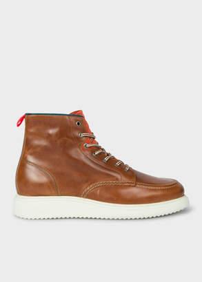 Paul Smith Men's Tan 'Caplan' Leather Boots