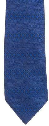 Louis Vuitton Monogram Pattern Silk Jacquard Tie