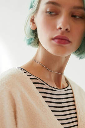 Urban Outfitters Delicate Rhinestone Choker Necklace