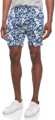 Slate & Stone Floral French Terry Walking Shorts
