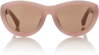 Dries Van Noten Pink Dries Van Noten Sunglasses $345 thestylecure.com