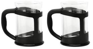 Black Coffee/Tea Cup - Set of 2