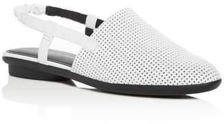 Donald J Pliner Women's Maci Perforated Leather Slingback Flats