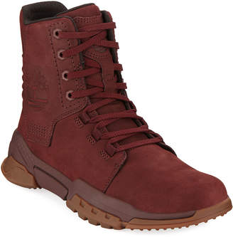 Timberland Men's City Force Reveal Leather Boots, Red