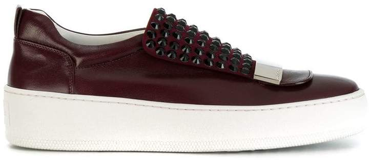 Sergio Rossi slip-on studded sneakers