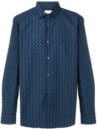 Salvatore Ferragamo Gancini embroidered shirt