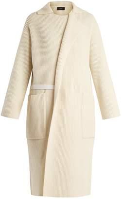 Joseph Ribbed-knit long cardigan