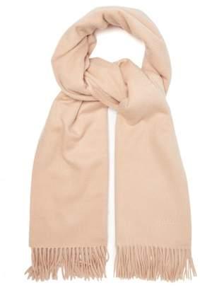 Max Mara Baci Scarf - Womens - Light Pink