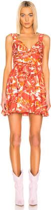Alexis Ilda Dress in Watercolor Floral   FWRD