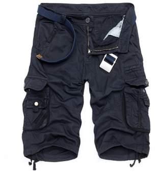 Trunks GARQEN Camouflage Cargo Shorts Men Casual Shorts Loose Work Shorts Military Short