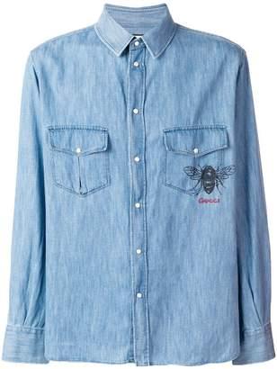 Gucci classic denim shirt